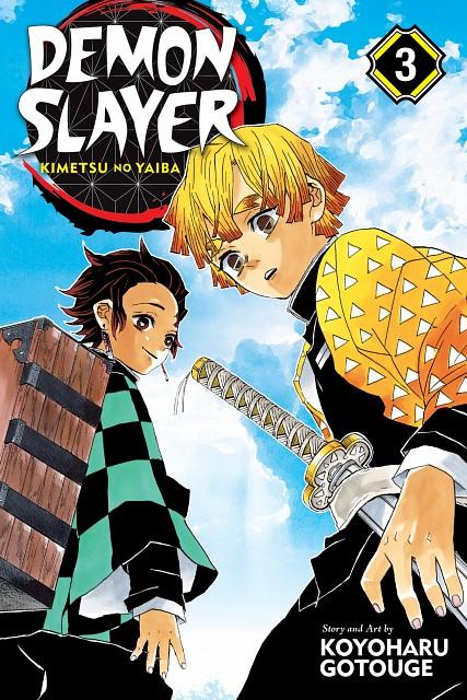 Koyoharu Gotouge, Kimetsu no Yaiba, Zenitsu Agatsuma, Tanjirou Kamado, Manga Cover