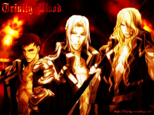 Gonzo, Trinity Blood, Abel Nightroad, Tres Iqus, Hugue De Watteau Wallpaper