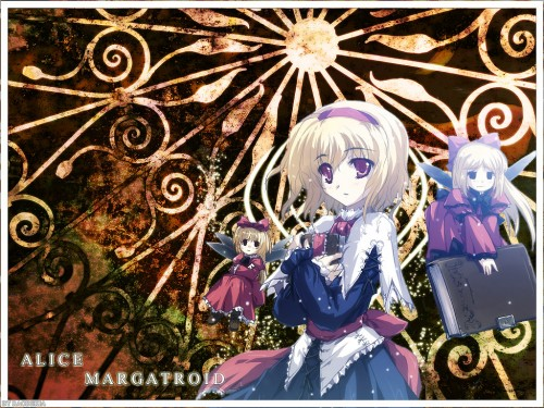 Touhou, Alice Margatroid Wallpaper