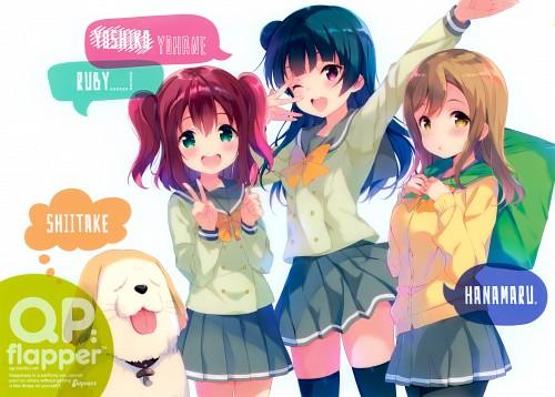 Sunrise (Studio), QP:flapper, Love Live! Sunshine!!, Ruby Kurosawa, Hanamaru Kunikida