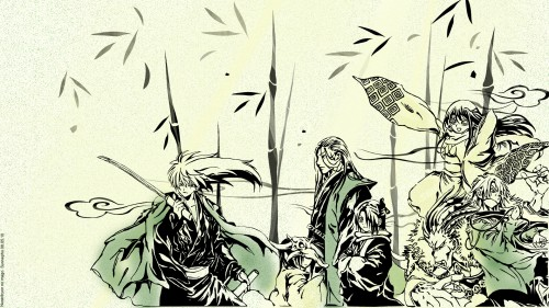 Hiroshi Shiibashi, Nurarihyon no Mago, Gyuuki, Mezumaru, Rikuo Nura Wallpaper