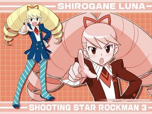 Keiji Inafune, Capcom, MegaMan, Luna Shirogane, Official Wallpaper