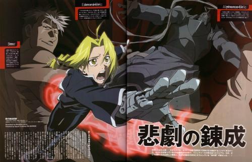 BONES, Fullmetal Alchemist, Edward Elric, Scar (FMA), Alphonse Elric