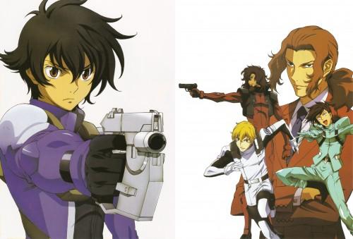 Mobile Suit Gundam 00, Ali Al-saachez, Graham Aker, Setsuna F. Seiei, Alejandro Corner