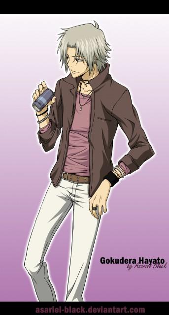 Akira Amano, Artland, Katekyo Hitman Reborn!, Hayato Gokudera, Vector Art