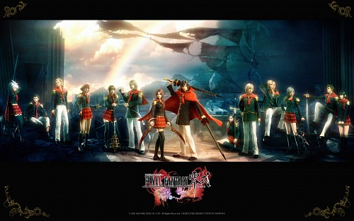 Square Enix, Final Fantasy Type-0, Cater, Ace (Final Fantasy Type-0), Eight (Final Fantasy Type-0)