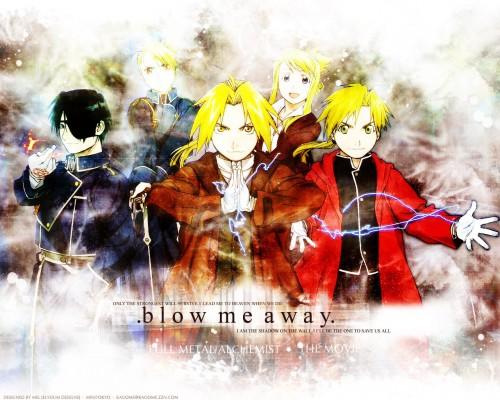 Hiromu Arakawa, BONES, Fullmetal Alchemist, Riza Hawkeye, Alphonse Elric Wallpaper