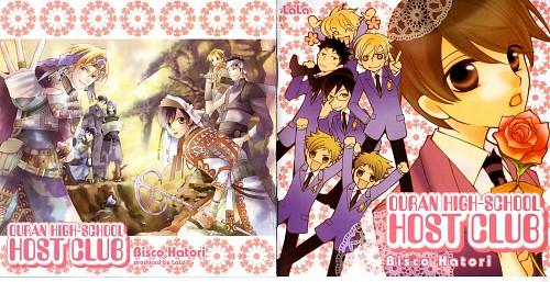 Hatori Bisco, BONES, Ouran High School Host Club, Takashi Morinozuka, Haruhi Fujioka