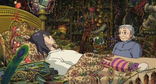 Studio Ghibli, Howl's Moving Castle, Old Sophie, Howl Jenkins
