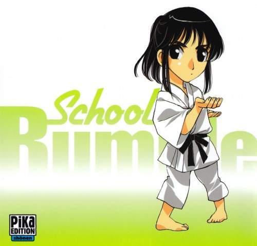 Jin Kobayashi, Studio Comet, School Rumble, Mikoto Suou