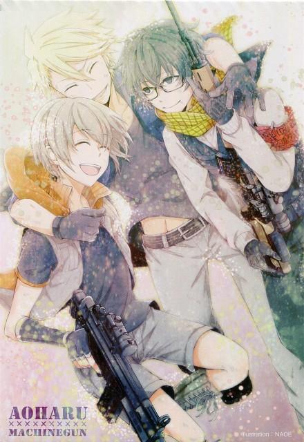NAOE, Brains Base, Aoharu x Kikanjuu, Tooru Yukimura, Hotaru Tachibana