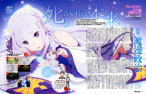 Kyuuta Sakai, White Fox, Re:Zero, Emilia (Re:Zero), Puck (Re:Zero)