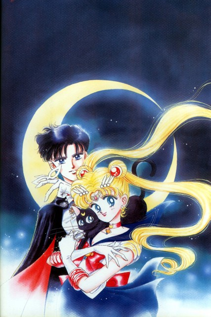 Naoko Takeuchi, Bishoujo Senshi Sailor Moon, BSSM Original Picture Collection Vol. I, Tuxedo Kamen, Luna