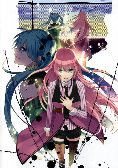 First Trip - Visual Note, Vocaloid, Luka Megurine, Miku Hatsune, Comic Market