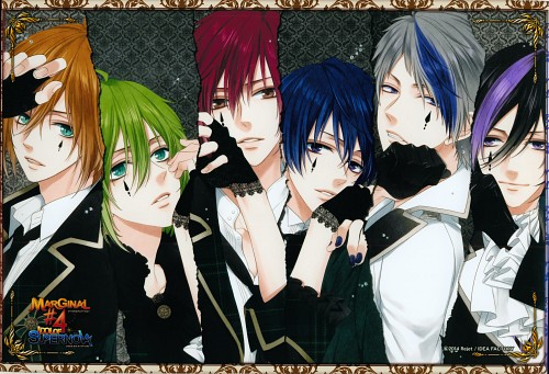 Sou Kirishima, Idea Factory, Rejet, Marginal #4, Shy Makishima