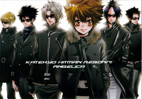 Ringo Momo, Katekyo Hitman Reborn!, Hayato Gokudera, Tsunayoshi Sawada, Kyoya Hibari