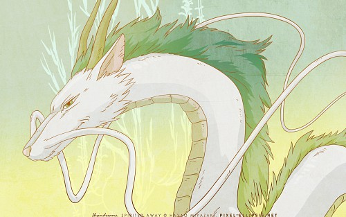 Studio Ghibli, Spirited Away, Haku (Spirited Away) Wallpaper