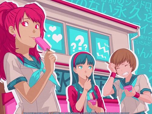 Anime International Company, Atlus, Shin Megami Tensei: Persona 4, Yukiko Amagi, Rise Kujikawa Wallpaper