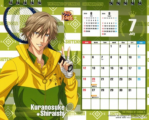 Takeshi Konomi, Production I.G, Prince of Tennis, Kuranosuke Shiraishi, Calendar