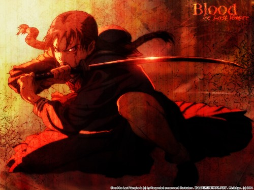 Production I.G, Blood the Last Vampire, Saya Wallpaper