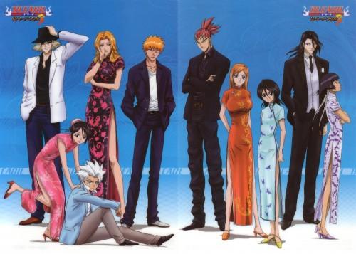 Studio Pierrot, Bleach, Kisuke Urahara, Byakuya Kuchiki, Renji Abarai