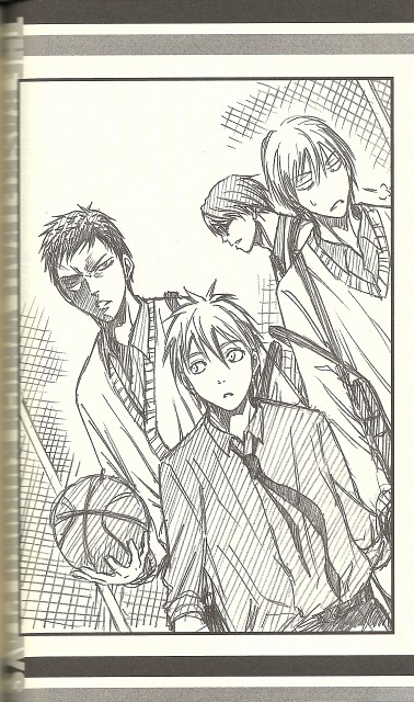 Tadatoshi Fujimaki, Production I.G, Kuroko no Basket, Daiki Aomine, Tetsuya Kuroko