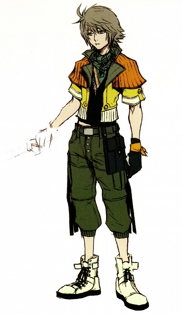 Square Enix, Final Fantasy XIII, Hope Estheim