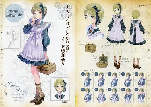 Mel Kishida, Gust, Atelier Meruru, Kaena Swaya, Character Sheet