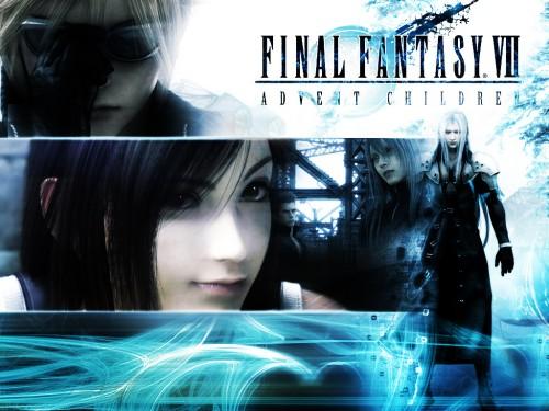 Square Enix, Final Fantasy VII: Advent Children, Sephiroth, Tifa Lockhart, Cloud Strife Wallpaper