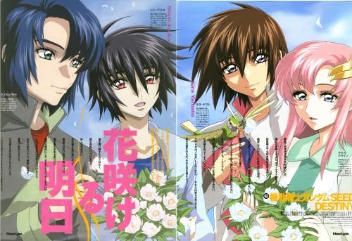 Sunrise (Studio), Mobile Suit Gundam SEED Destiny, Athrun Zala, Torii (Gundam SEED), Kira Yamato
