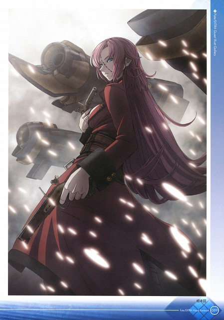Imizu, TYPE-MOON, Fate/Extra Visual Fan Book, Fate/EXTRA, Francis Drake