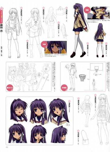 Kyoto Animation, Clannad, Kyou Fujibayashi, Character Sheet