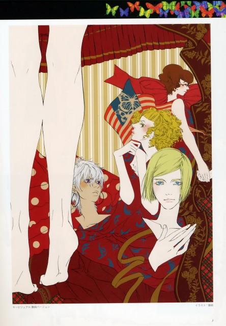 Kirihito Ayamura, Gonzo, Red Garden, Rose Sheedy, Claire Forrest