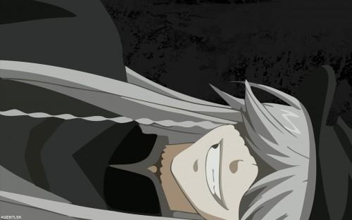 Yana Toboso, A-1 Pictures, Kuroshitsuji, Undertaker, Vector Art Wallpaper