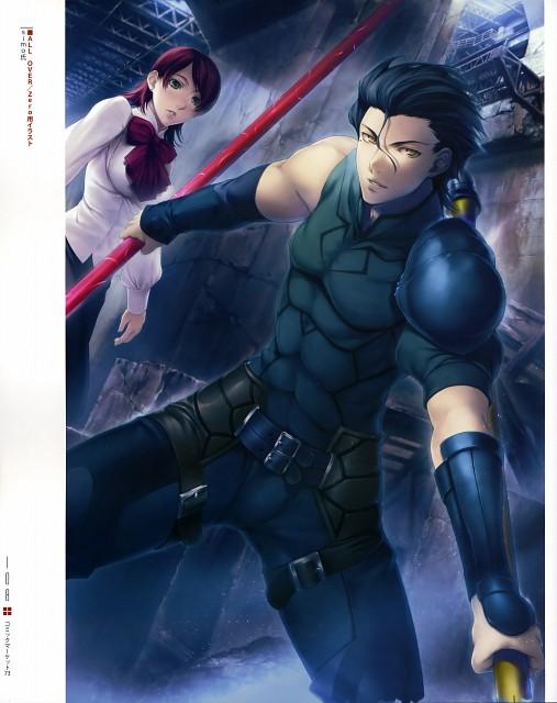 Simosi, Ufotable, TYPE-MOON, Fate/Zero, Type-MOON Comic Illust Book