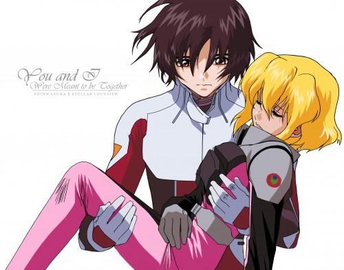 Sunrise (Studio), Mobile Suit Gundam SEED Destiny, Stellar Loussier, Shinn Asuka, Vector Art