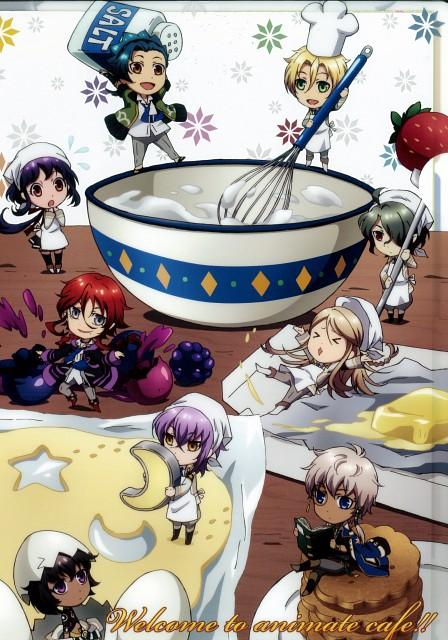 Yone Kazuki, Brains Base, Broccoli, Kamigami no Asobi, Loki Laevatein