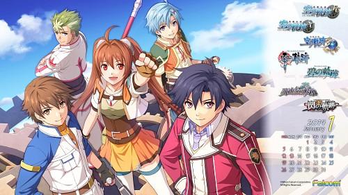Falcom, The Legend of Heroes: Trails in the Sky, The Legend of Heroes: Zero no Kiseki, Estelle Bright, Rean Schwarzer
