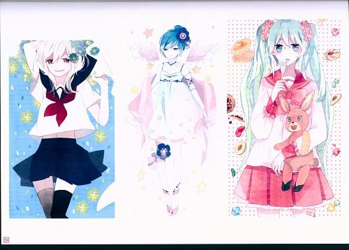Gaga, Rain Planet, Vocaloid, Miku Hatsune, Haku Yowane