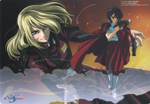 Sunrise (Studio), Mobile Suit Gundam SEED Destiny, Rey Za Burrel, Shinn Asuka