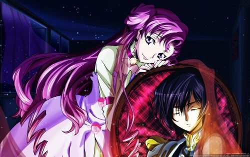 Takahiro Kimura, Sunrise (Studio), Lelouch of the Rebellion, Lelouch Lamperouge, Euphemia Li Britannia Wallpaper
