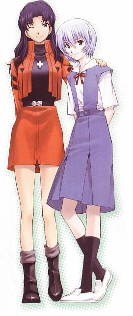 Osamu Takahashi, Gainax, Neon Genesis Evangelion, Rei Ayanami, Yui Ikari