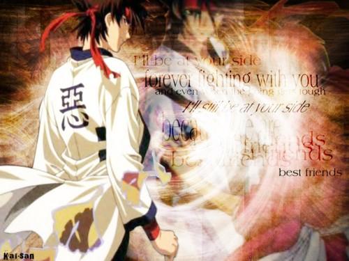 Rurouni Kenshin, Sanosuke Sagara Wallpaper