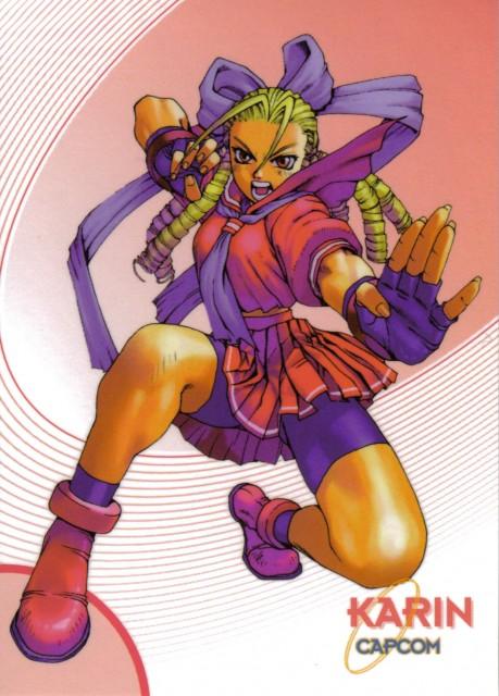 Capcom, Street Fighter, Karin Kanzuki