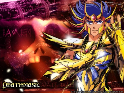 Masami Kurumada, Saint Seiya, Cancer DeathMask Wallpaper