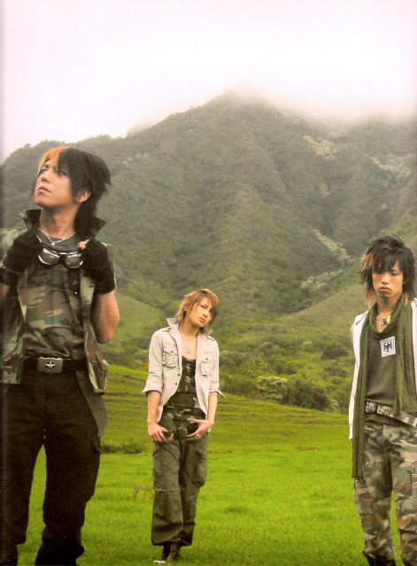 Saga (J-Pop Idol), Hiroto, Nao, Alice Nine