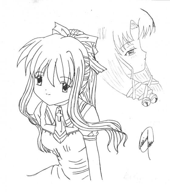 Key (Studio), Air, Kanna (Air), Misuzu Kamio, Member Art