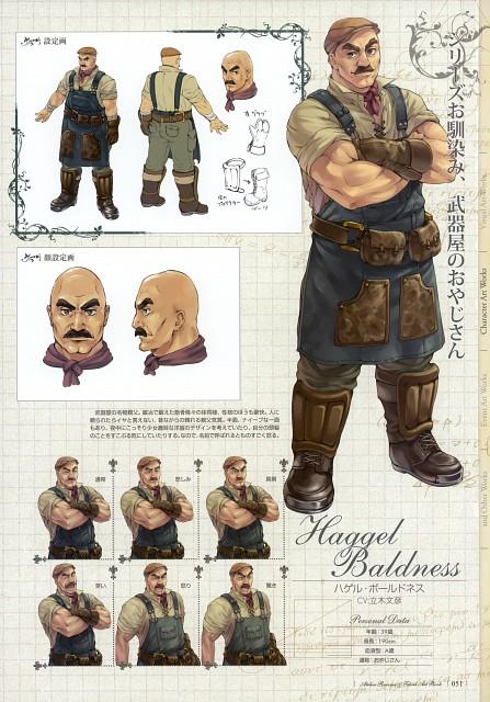 Mel Kishida, Gust, Atelier Rorona & Totori Art Book, Atelier Rorona, Haggel Baldness