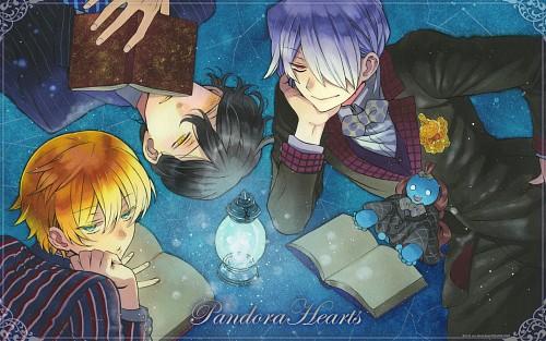 Jun Mochizuki, Xebec, Pandora Hearts, Oz Vessalius, Emily (Pandora Hearts)