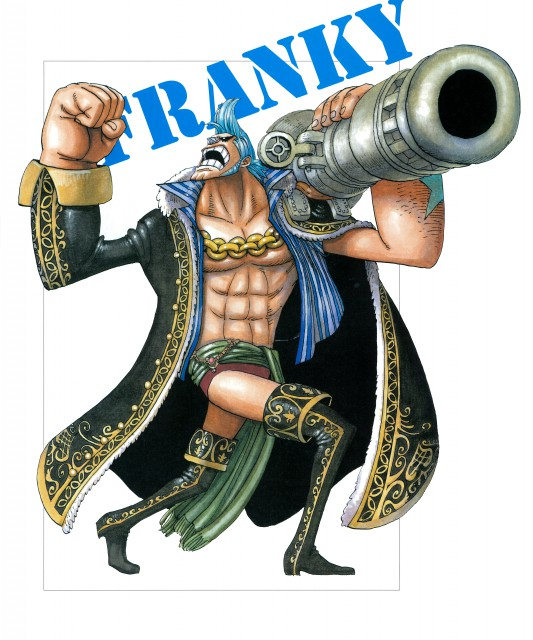 Eiichiro Oda, Toei Animation, One Piece, Color Walk 4 - Eagle, Franky